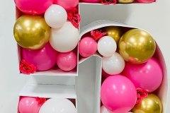 Balloon-Mosaic-Number-5