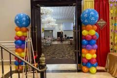 Carnival-Theme-Balloon-Pillars