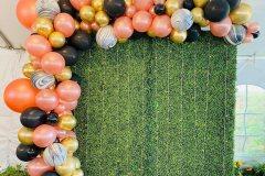 Organic-Balloon-Garland-Over-Green-Grass-Backdrop
