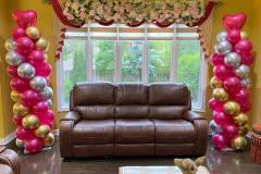 Home-Decor-With-Balloon-Pillars-Flower-Panels